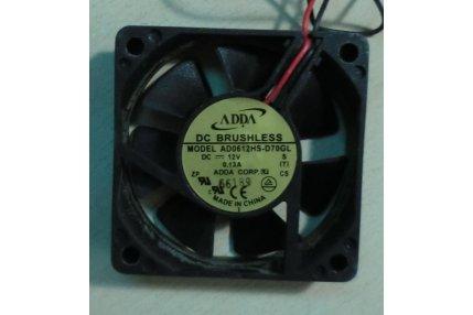 Ventole PC - VENTOLA ADDA AD0612HS-D70GL PER SCM ELCON EP6010 PC VIA