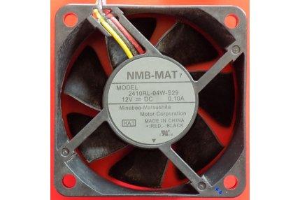 Ventole TV - VENTOLA NMB-MAT 2410RL-04W-S29 12V DC 0.10A