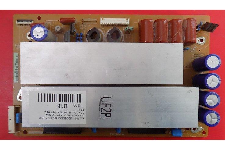 X-MAIN LJ92-01682A REV AA5 - CODICE A BARRE TA 682A - AA5