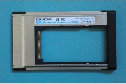 Ricambi Tv / Monitor - ADATTATORE EXPRESS CARD A PCMCIA E2P200 ONDA 490032001