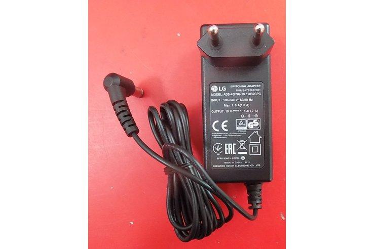 Alimentatore - Adattatore LG ADS-40FSG-19 19032GPG EAY62812001 Nuovo