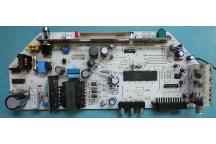 ALIMENTATORE MIVAR CS1128 20 LCD IC7 TDA7266S