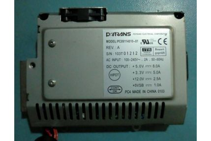 ALIMENTATORE PC09114010-01 REV A PER LCD COMPUTER LP200C