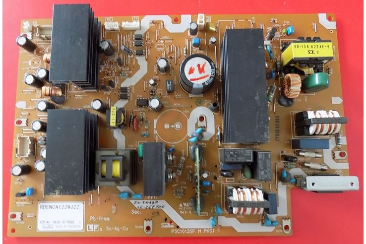 ALIMENTATORE SHARP PSC10125F M PKG1 RDENCA 122WJZZ