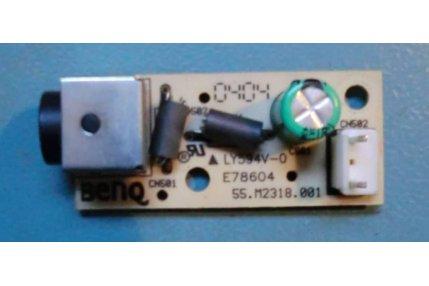Schede Tuner Ingressi e Interconnessione TV - ATTACCO ALIMENTAZIONE THOMSON 55.M2318.001 48.M2318.A00