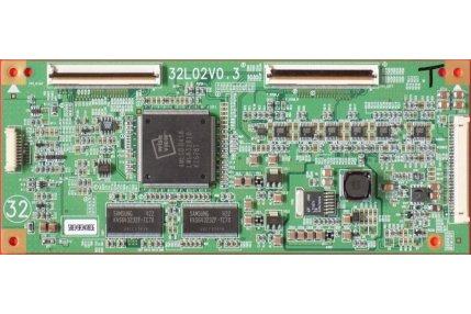 T-con e Scaler TV - T-Con 32L02V0.3 Codice a barre 00349A