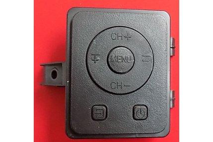 Tastiera Tv Hisense H43M3000Completa di parte estetica nera