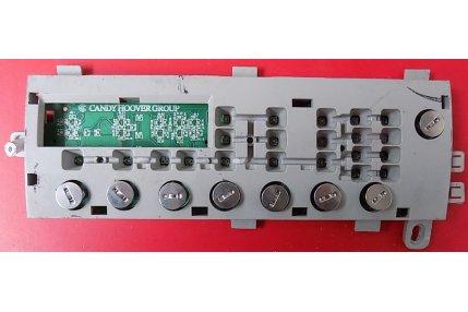 Schede Selettore Programmi Lavatrici - Scheda Pannello Comandi Hoover 41042242