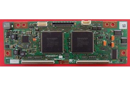 T-Con SHARP CPWBX3830TP Codice a barre 79G XB
