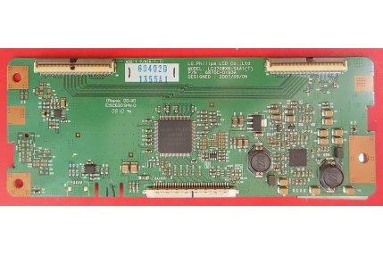- T-Con LG LC370WXN-SAA1(T) 6870C-0193A Codice a barre 1355A1