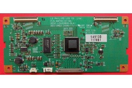 - T-Con LG LC420WX6-SLA1 6870C-0119A Codice a barre 1978B1
