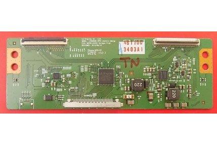 - T-Con LG LC500DUE-SFR1 6870C-0452A Codice a barre 3403A1 Smontata da Tv Nuovo