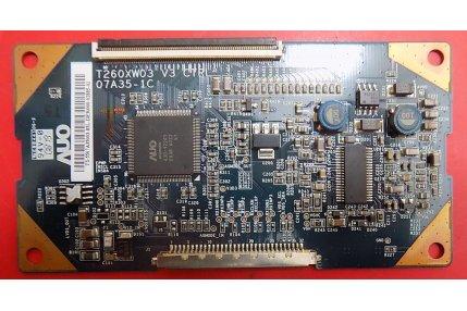 - T-Con LG T260XW03 V3 07A35-1C Codice a barre 5507A35003