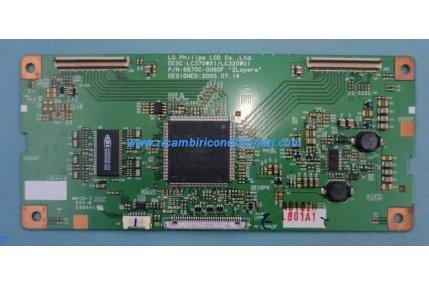 - T-Con PHILIPS LC370WX1-LC320W01 6870C-0060F Codice a barre L801A1