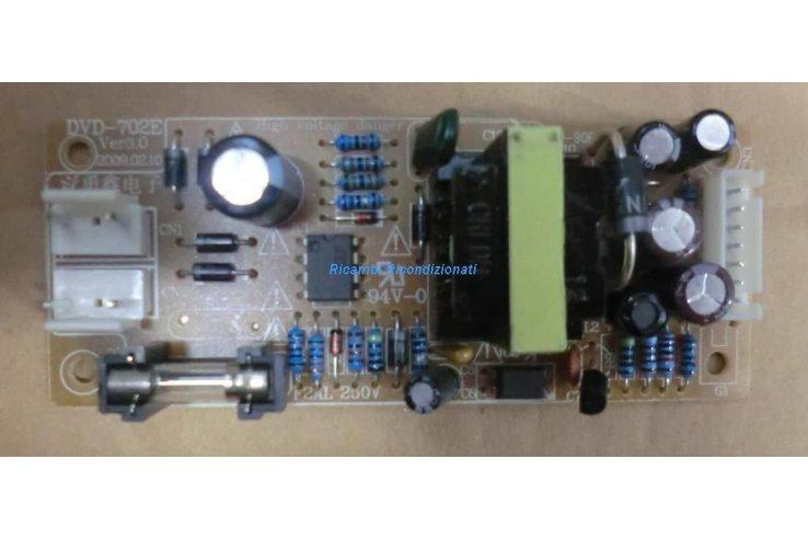 Alimentatore DVD-702E VER3.0