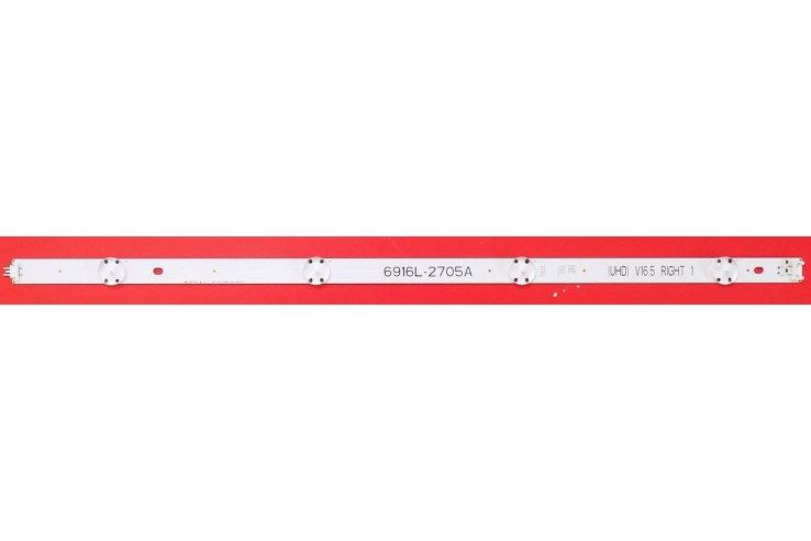 BARRA LED LG 49'' V16.5 ART3 2705 REV0.0 2 RIGHT 1 - CODICE A BARRE 6916L-2705A NUOVA