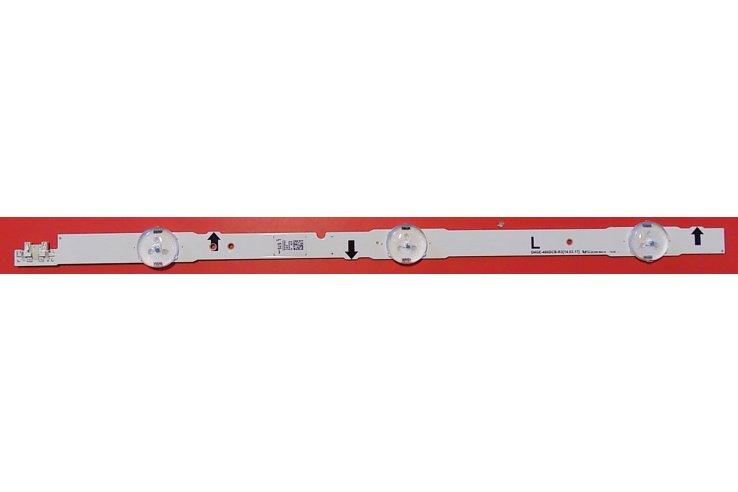 Barra Led SAMSUNG D4GE-480DCB-R3 L Codice a barre 30454A Smontata da Tv Nuovo