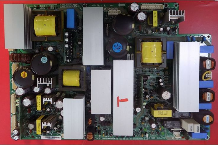 Alimentatore Hyundai PS-423-SD V3.1 REV.01 20031030 LJ44-00068A REV A6 Codice a barre DM20064A