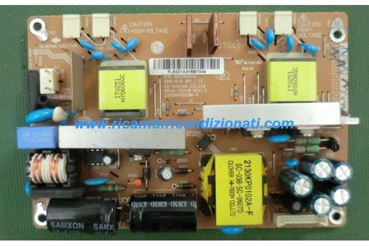 Alimentatore LG 68709D0011A REV 1.0 YPLM-T001B REV 1.0 2300KPG058A-F