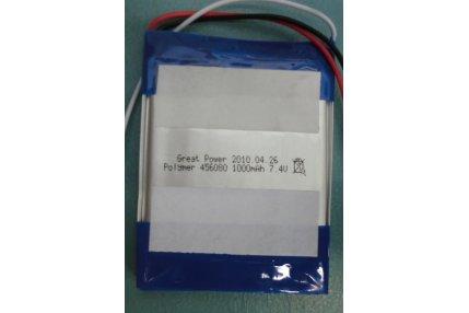 Batterie - BATTERIA NUOVA GREAT POWER POLYMER 456080 1000mAh 7.4V