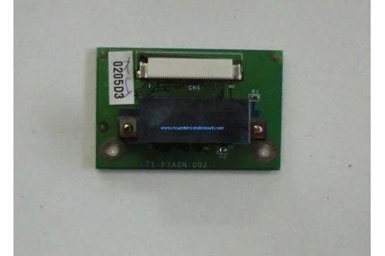 All In One - BOARD 71-P7A0N-002 PER PC LCD COMPUTER MODELLO L297T CLEVO CO.XF.7TM PENTIUM 4 3.0GHz