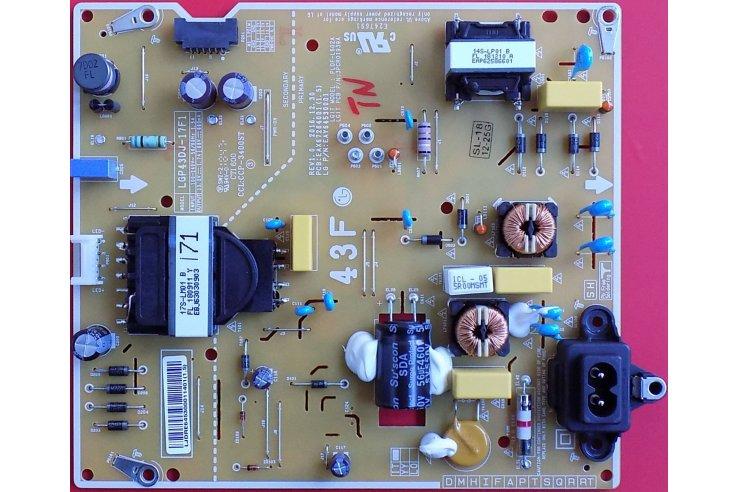 Alimentatore LG LGP43DJ-17F1 REV1.0 EAX67264001 (1.5) EAY64530001 Smontato da Tv Nuovo