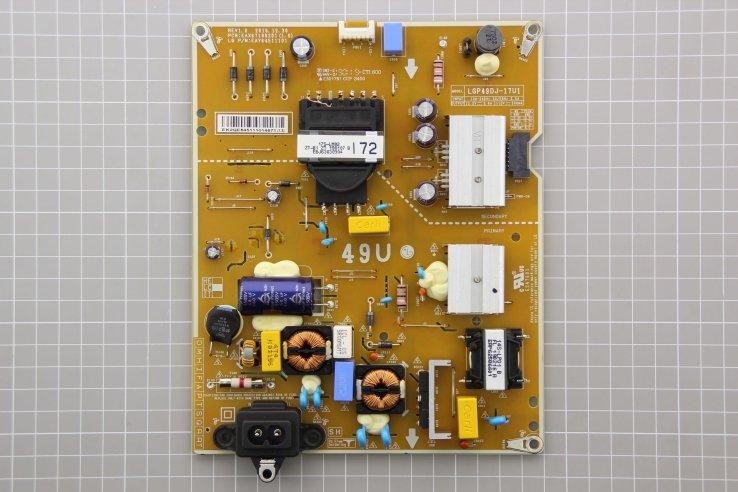 Alimentatore LG LGP49DJ-17U1 EAX67189201(1.6) EAY64511101 Smontato da Tv Nuovo