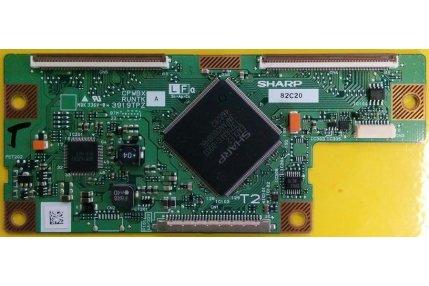 T-con e Scaler TV - CONTROL CPWBX RUNTK 3919TPZ A - 82d07 - PER TV UNITED LTV32X93