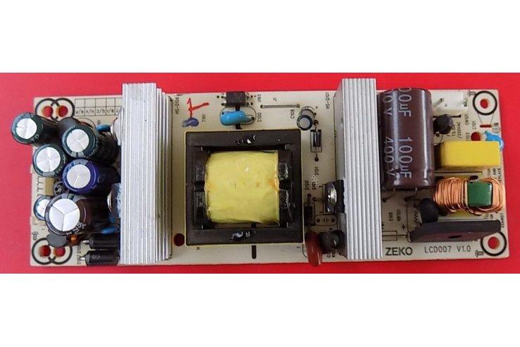ALIMENTATORE MAJESTIC LCD007 V1.0 - CODICE A BARRE BJM1-52150-0P2G