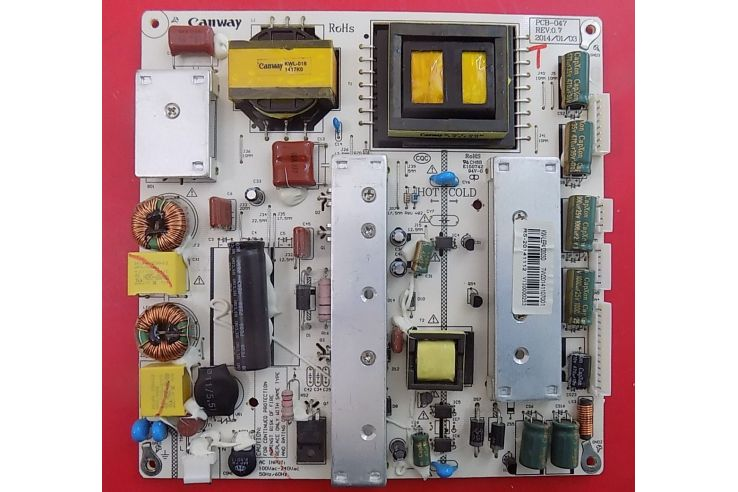 ALIMENTATORE MASTER PCB-047 REV 0.7 - KW-LEP412003D