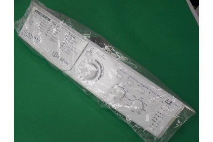 Cruscotti Lavatrici - Cruscotto + Maniglia cassetto + pulsanti Lavatrice Indesit 488000508417 Originale Nuovo