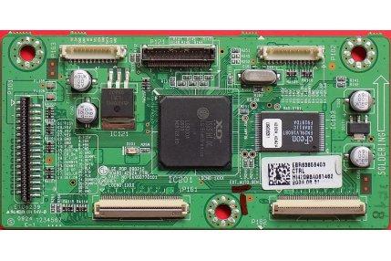 X/Y/Z SUS TV - CTRL LG LGE PDP 090212 42G2A_CTRL EAX60770101 Rev: B Codice QR EBR63856403