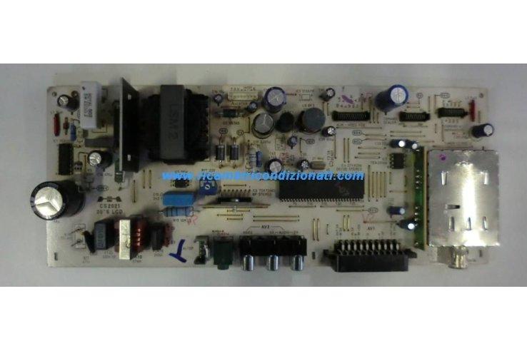 ALIMENTATORE MIVAR CS2021 20 S LCD