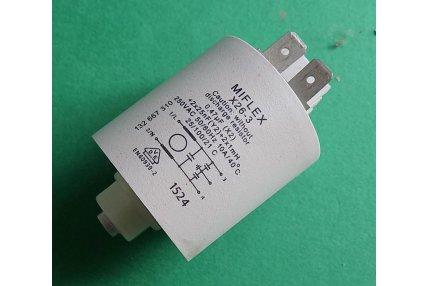 Filtro antidisturbo Lavasciuga - Filtro condensatore antidisturbo 3792740007 Miflex X26-3 10A Lavasciuga Electrolux Nuovo Originale