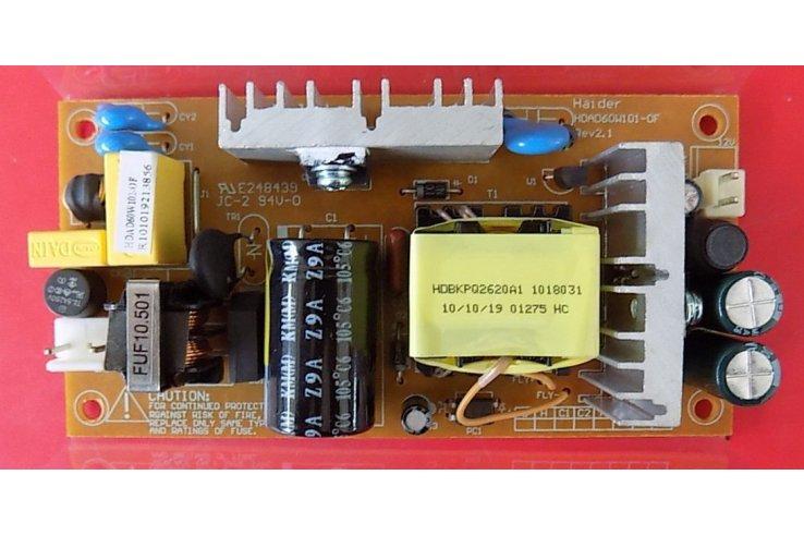 ALIMENTATORE NIKKEI HAIDER HDAD60W101-0F REV2.1