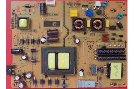 Alimentatore PANASONIC Vestel 17IPS72P Codice QR 23495240 Smontato da Tv Nuovo