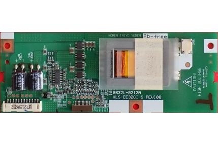 Inverter / Led Driver TV - INVERTER 6632L-0212A KLS-EE32CI-S REV 09