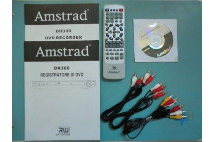 Telecomandi - KIT TELECOMANDO CAVI AUDIO-VIDEO E ISTRUZIONI REGISTRATORE DVD MODELLO DR300