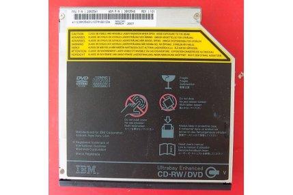 Lettori Masterizzatori CD/DVD - LETTORE MASTERIZZATORE DVD - CD-RW IBM GCC-4244N IMS6 A2 - CODICE A BARRE B7C186120 39M3541 39M3540 REV 101