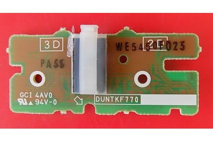 LOGO RETROILLUMINAZIONE LED SHARP DUNTKF770 QPWBNF770WJZZ - CODICE A BARRE WE5450F023